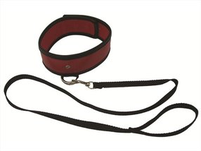 S&M Red Leash & Collar