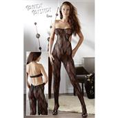 Tube Catsuit black S-L