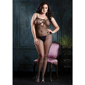 Visnet Bodystocking - Wit